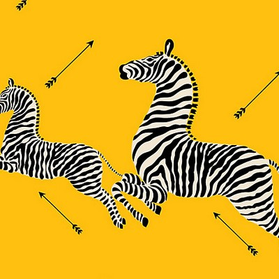 Scalamandre Wallcoverings ZEBRAS YELLOW Search Results