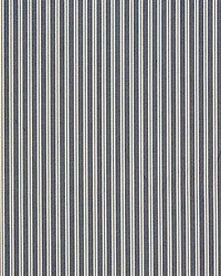 Scalamandre Kent Stripe Indigo Fabric