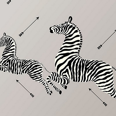 Scalamandre Wallcoverings ZEBRAS SILVER Search Results