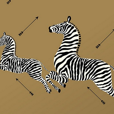 Scalamandre Wallcoverings ZEBRAS GOLD Search Results