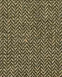 Scalamandre Oxford Herringbone Weave Moss Fabric