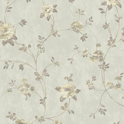 York Wallcovering FLORAL VINE                    57 Silver/White Search Results