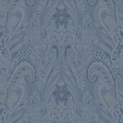 York Wallcovering PAISLEY TEXTURE                42 Blue Search Results