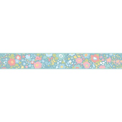 York Wallcovering DwellStudio Baby & Kids Posey Border                                       Blues /Pinks /Greens Search Results