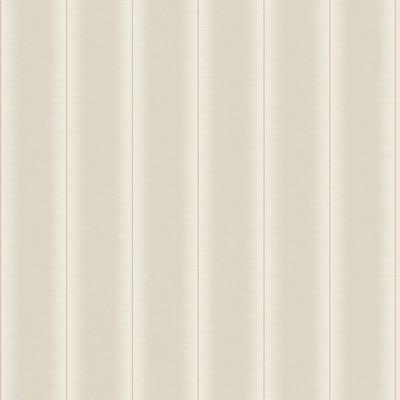 York Wallcovering Luminous Stripe Wallpaper Beige Filigree