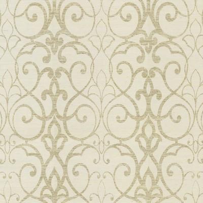 York Wallcovering Filigree Trellis Wallpaper White Filigree