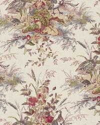 Schumacher Fabric Quail Meadow Winter Fabric