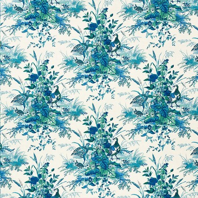 Schumacher Fabric QUAIL MEADOW PEACOCK Search Results