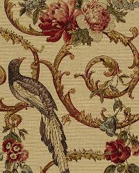 Schumacher Fabric Madrigal Document Fabric