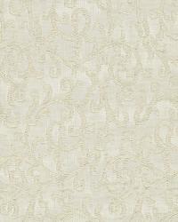 Schumacher Fabric Madras Vine Ecru Fabric