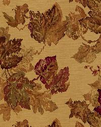 Schumacher Fabric Longwood Leaves Spice Fabric