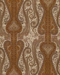 Schumacher Fabric Chavant Paisley Caramel Fabric