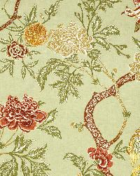 Schumacher Fabric Arbre Chinois Sage Fabric
