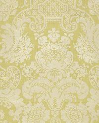 Schumacher Fabric Padova Damask Print Celadon Fabric