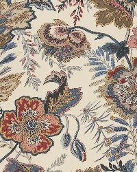 Schumacher Fabric Sandoway Vine Document Fabric