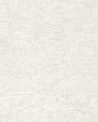 Schumacher Fabric Padova Damask Natural Ivory Fabric