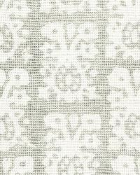 Schumacher Fabric Jakarta Linen Print Slate Fabric