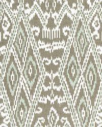 Schumacher Fabric Maya Ikat Print Greige Fabric