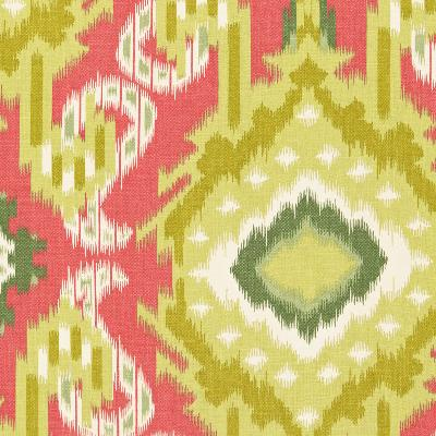 Schumacher Fabric KIRIBATI IKAT PRINT CORAL Search Results