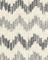 Schumacher Fabric Sierra Ikat Zinc Fabric
