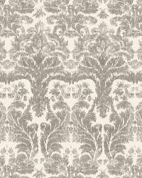 Schumacher Fabric Aurora Damask Linen Fabric