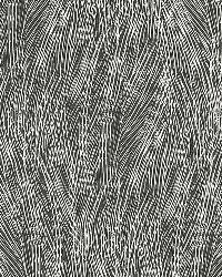 Schumacher Fabric Grand Cascade Charcoal Fabric
