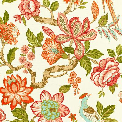 Schumacher Fabric HUNTINGTON GARDENS CORAL Search Results