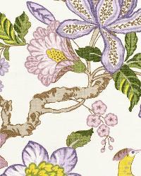 Schumacher Fabric Huntington Gardens  Lavender Fabric
