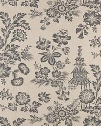Schumacher Fabric Song Garden Greige Fabric