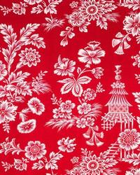 Schumacher Fabric Song Garden Lacquer Fabric
