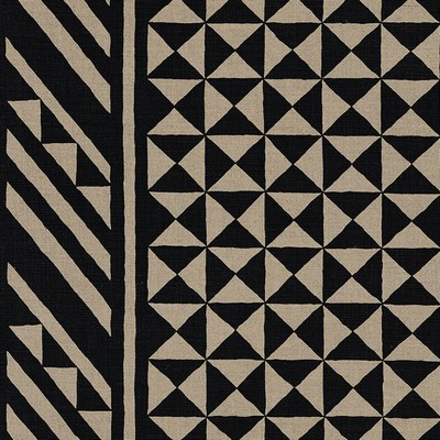 Schumacher Fabric NUBA BLACK ON NATURAL Search Results