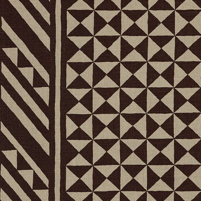 Schumacher Fabric NUBA BROWN ON NATURAL Search Results