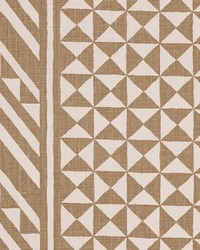 Schumacher Fabric Nuba Taupe Fabric