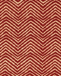 Schumacher Fabric Moka Red Fabric