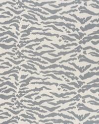 Schumacher Fabric Tigris Graphite Fabric