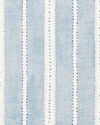 Schumacher Fabric Amour Blue Fabric