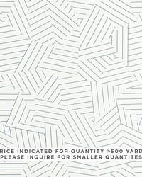 Schumacher Fabric Deconstructed Stripe Contract Blue Fabric