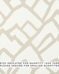 Schumacher Fabric Zimba Contract Natural Fabric