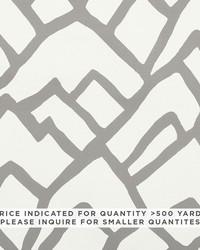Schumacher Fabric Zimba Contract Grey Fabric