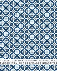 Schumacher Fabric Serendipity Contract Blue Fabric