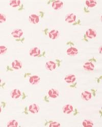 Schumacher Fabric Hanako Ikat Rose Fabric