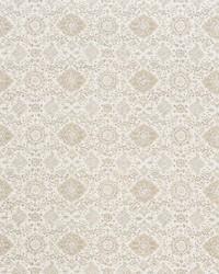 Schumacher Fabric Montecito Floral Neutral Fabric
