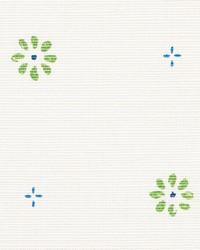 Schumacher Fabric Suna Floral Green Fabric