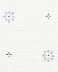 Schumacher Fabric Suna Floral Lilac Fabric