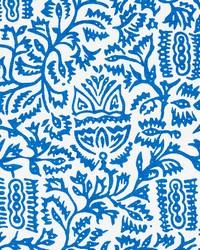 Schumacher Fabric Morris Blue Fabric
