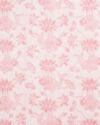 Schumacher Fabric Lotus Batik Pink Fabric