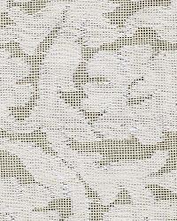 Schumacher Fabric Floral Cutwork Natural Fabric