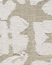 Schumacher Fabric Vine Cutwork Natural Fabric