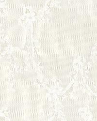 Schumacher Fabric Stephanies Lace Champagne Fabric