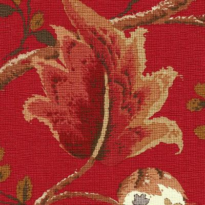 Schumacher Fabric FOX HOLLOW TOMATO AND BRASS Search Results